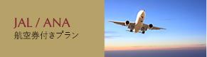 ANA/JAL航空券付きパックプラン