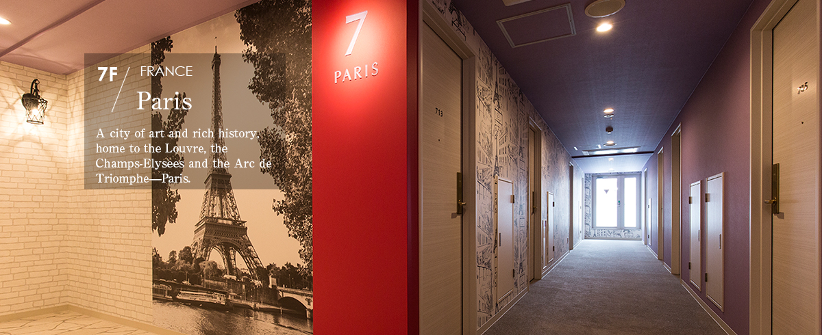 7F Paris  A city of art and rich history, home to the Louvre, the Champs-Elysees and the Arc de Triomphe—Paris.